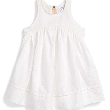 egg by susan lazar Empire Waist Seersucker Dress (Baby Girls) | Nordstrom