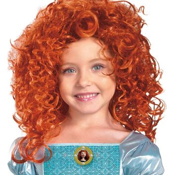 Brave-merida Child Wig Halloween Accessories mask Costumes