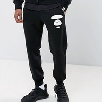 AAPE By A Bathing Ape Joggers With AAPE Badge Print at asos.com