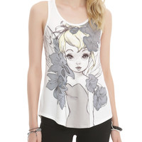 Disney Tinker Bell Illustrated Girls Tank Top