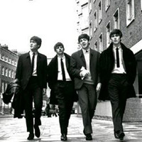 The Beatles Street Of London Music Poster