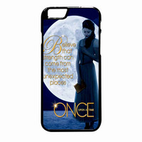 Once Upon A Time Belle  Full Moon iPhone 6 Plus case