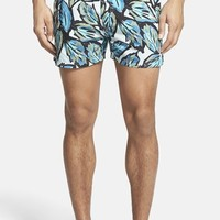 Men's Burberry Brit 'Grayton' Print Swim Trunks
