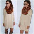 Time Well Wasted Beige Long Sleeve Dress