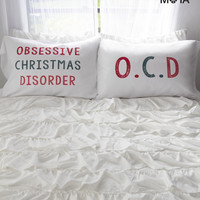 Aeropostale  O.C.D. Pillow Case Set