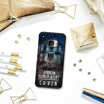 American Horror Story coven In Galaxy HTC One M10 Case Planetscase.com