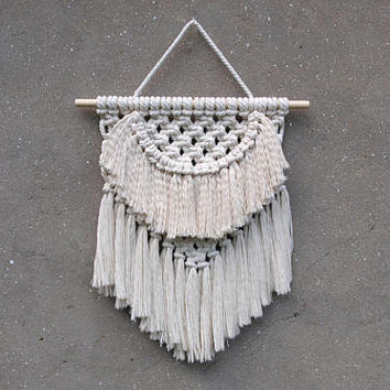 Macrame wall hanging Woven wall hanging Weaving wall decor