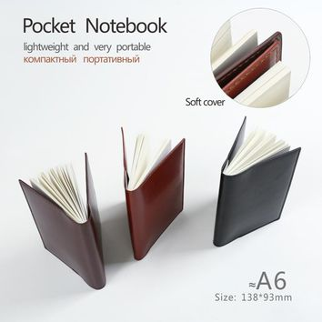 Pocket notebooks A6 to do list planners notepad Lined pages Plain paper linepages diary  journal Stationery office supplies