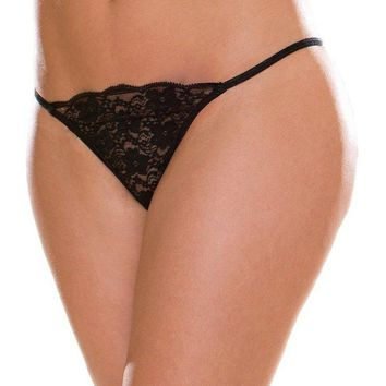 Escante EL- A1273 Lace G-String