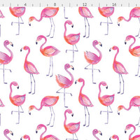Flamingos Cotton Fabric by the Yard Baby Girl Quilting Fabric Flamingo Childrens Minky Knit Organic Cotton Baby Girl Nursery Fabric 5354888