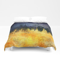 My burning desire Duvet Cover by HappyMelvin