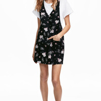 Printed dress - Black - Ladies | H&M GB