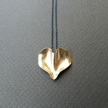 Golden Petal Necklace