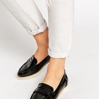 ALDO Raineri Black Patent Flat Shoes