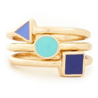 Trio and Try Again Rings | Mod Retro Vintage Rings | ModCloth.com