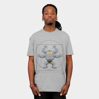 Da Vinci's Vitruvian Machamp T Shirt By FlyNebula Design By Humans