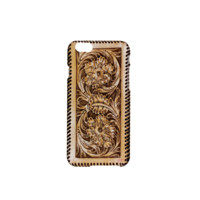 Hard Cover for iPhone 6 - Tooled Leather