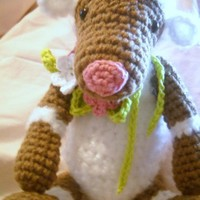 Handmade Crochet Little Lamb Stuffed Animal Made To Order