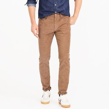 484 Slim-fit pant in corduroy