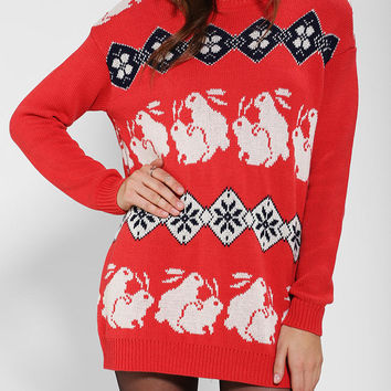 BDG Animal Games Sweater - Urban Outfitters