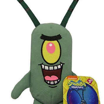 Spongebob Squarepants Plankton Plush Toy NWT
