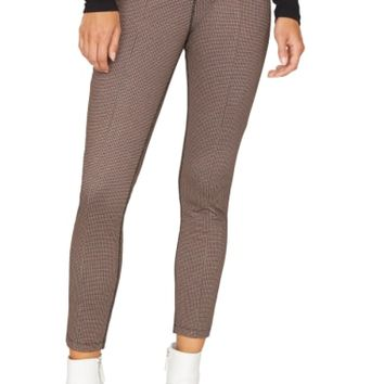 Sanctuary Microcheck Crop Leggings | Nordstrom