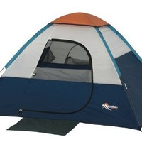 Mountain Trails Current Hiker 6-Foot by 5-Foot 2-Person Dome Tent