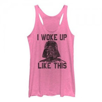 Star Wars I Woke Up Like This Tank (Women's)