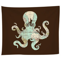 All Around The World Tapestry