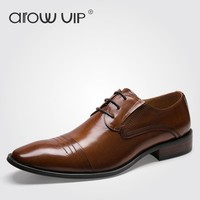 Fashion Leather Oxfords High Quality Luxury Dress Shoes