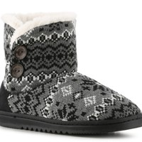 Dearfoams Media Nortic Boot Slipper