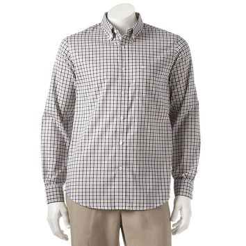 Dockers Checked Casual Button-Down Shirt - Big & Tall, Size: