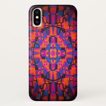 Kaleidoscope star pattern Case-Mate iPhone case
