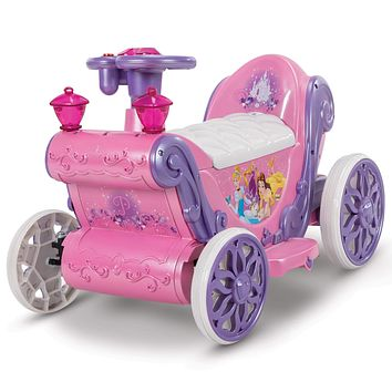 Kids Toddler Disney Princess ATV 6V Battery Operated Powered Electric Ride On