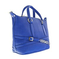Versace EE1VOBBJ1 E202 Blue Shoulder Bag