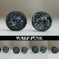 Warp Punk Color Shifting Earrings