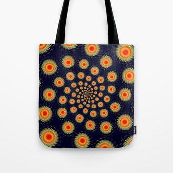 Stars motion Tote Bag by Natalia Bykova
