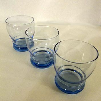 Libbey Bulbous Wide Drinking Glasses