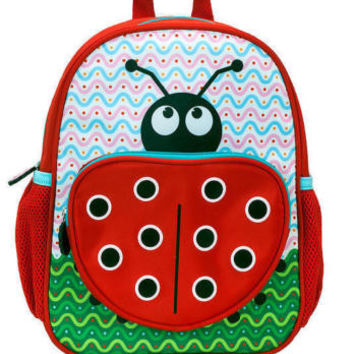 Rockland Kids Backpack Ladybug School Bag