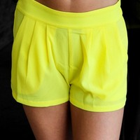 Yellow Fever Shorts