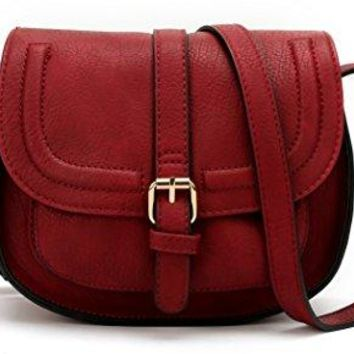 ANNA JONES Classy Small Purse Vintage Cross Body Bag for Women Adjustable Shoulder Strap Bags