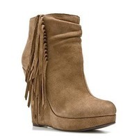 Mikala Wedge Bootie
