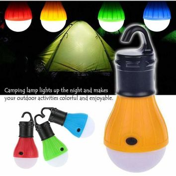 2 pcs Outdoor Camping Lamp Tent Light Torch Flashlight