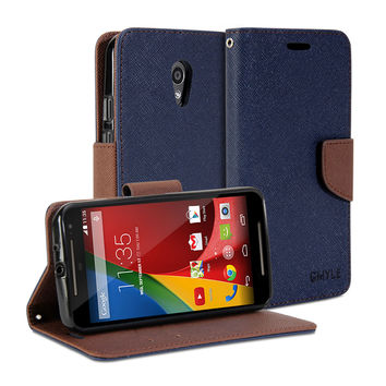 Wallet Case Classic for Motorola Moto G (2nd Gen. 2014)