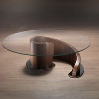 Low round coffee table minerva Carpanelli contemporary 2013 Collection by Carpanelli Contemporary | design Giuseppe Carpanelli