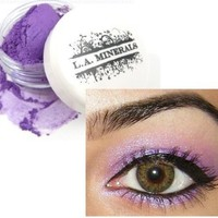 L.A. Minerals Purple Pink Iridescent Eye Shadow - Sexy Biotch