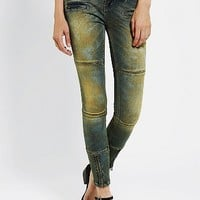BDG Moto Twig Mid-Rise Jean