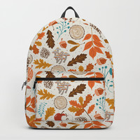 Autumn Woods Backpack by Heather Dutton