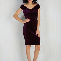 Mid-length Short Sleeves Sheath In It to Vim It Dress