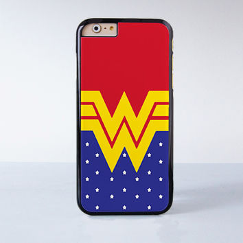 Wonder Woman Inspired Disney Super Hero  Plastic Case Cover for Apple iPhone 6 6 Plus 4 4s 5 5s 5c